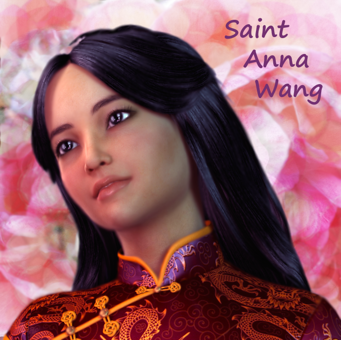 Saint Anna Wang, Chinese Martyr at age 14