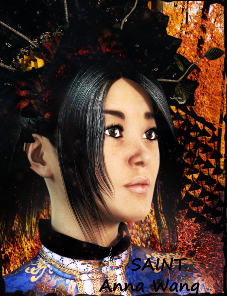 Saint Anna Wang, Fall Poster