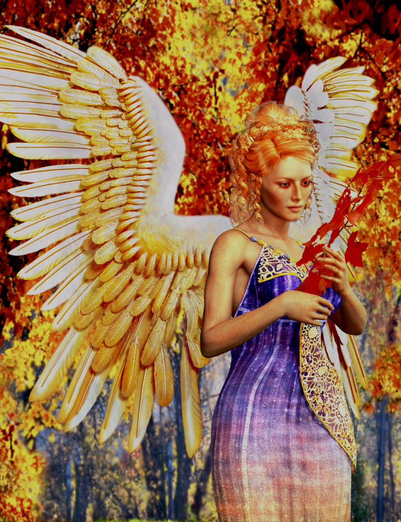 Angel for Fall