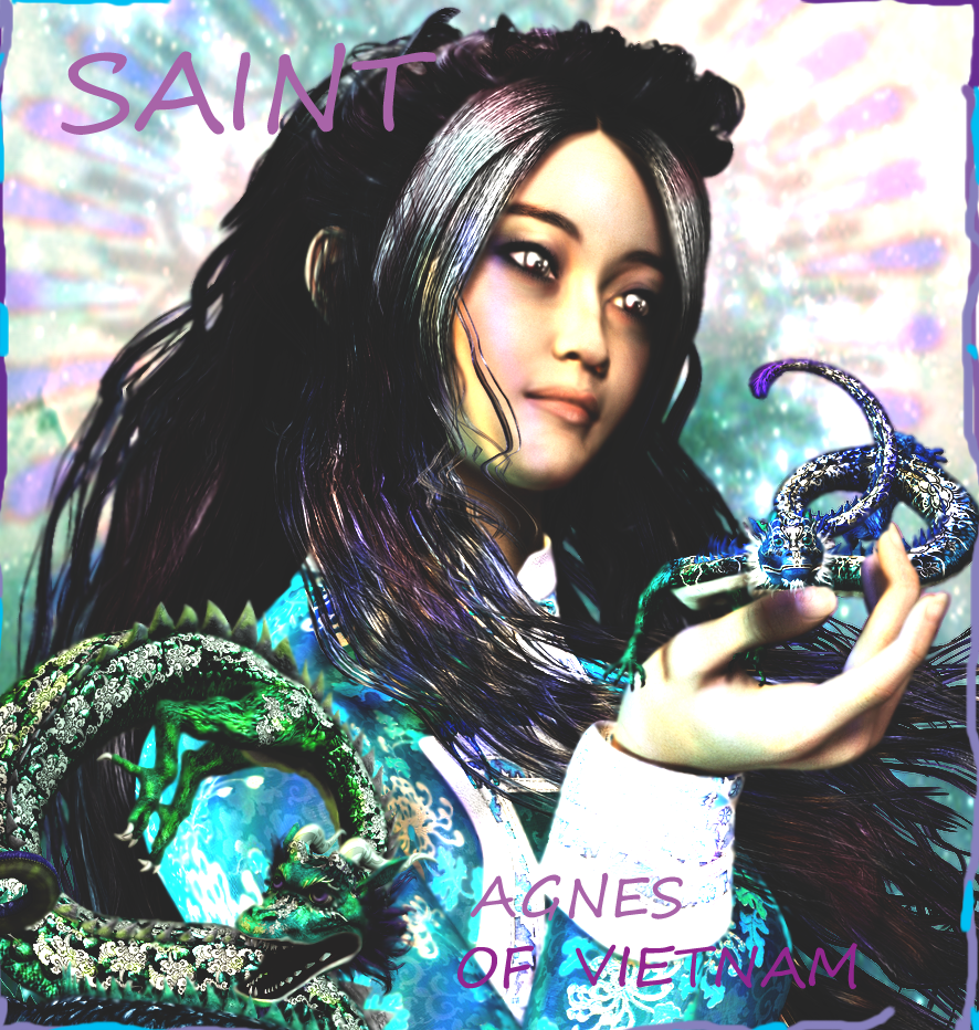 Saint Gnes Le Thi Thanh