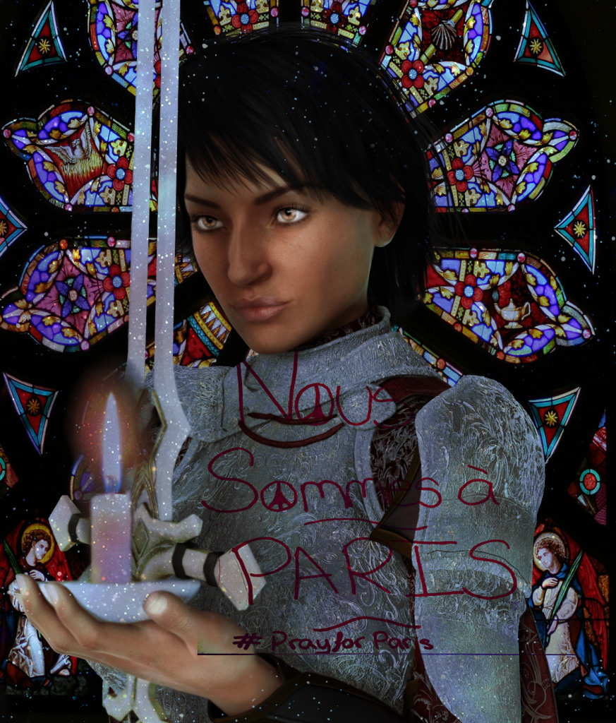 Saint Joan of Arc, pray for France