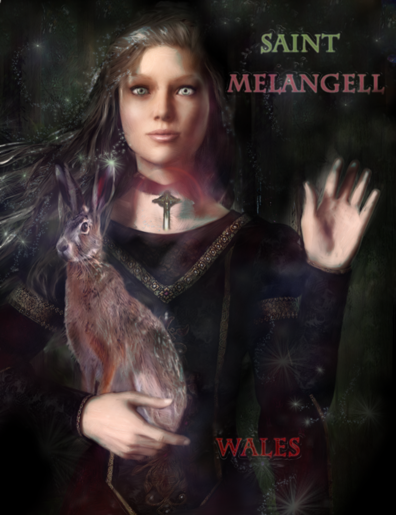 Saint Melangell of Wales