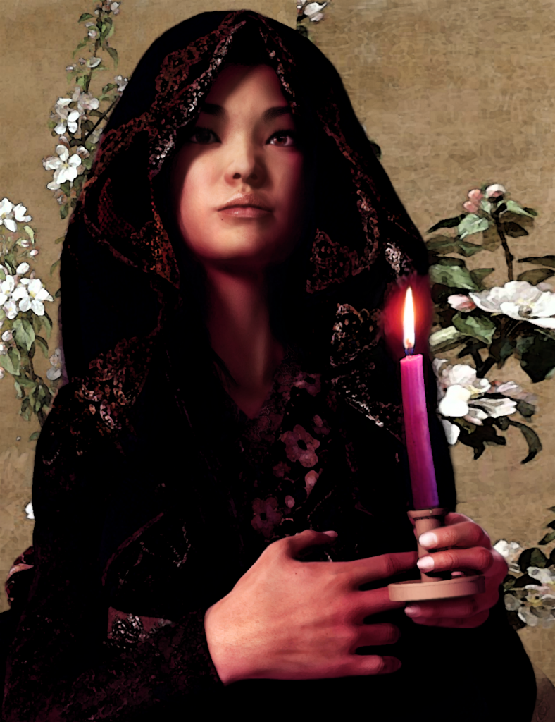 Saint Agnes Gui Ying Cao light from China