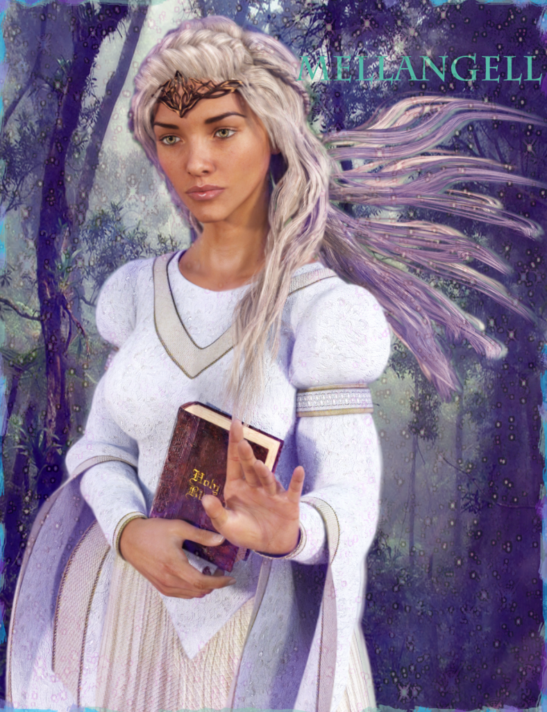 Melangell in Lavender