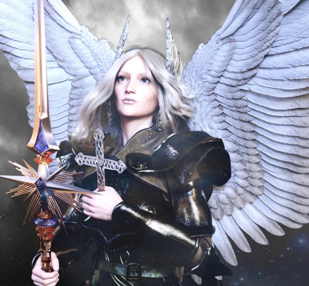Albino Angel